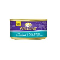 Wellness Cat Food Cubed Tuna Entree, Tuna EntrTe 3 oz