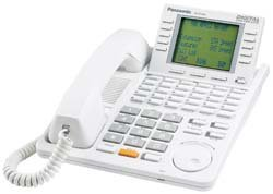 Telephone Kx Td Systems (KX-T7456 Panasonic Digital 24 Button Speakerphone 6-Line Display White)