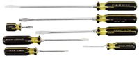 Stanley 66-157 100 Plus Standard Screwdriver Set,Pack of 7