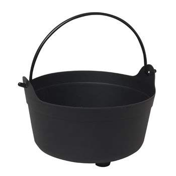 J&J's ToyScape Halloween Cauldron Candy Bowl | Trick or Treat Bucket, Party Costume Accessory, Halloween Party Table Decorations ()