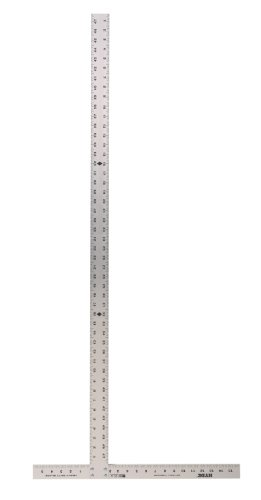 Drywall T-square (Hyde Tools 9034 48-Inch Heavy-Duty Fixed Drywall T-Square)