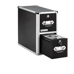 Two-Drawer Cd File Cabinet, Holds 330 Folders/120 Slim/60 Std. Cases By: Vaultz