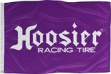 Hoosier Racing Tires 2' x 3' Hoosier Flag Banner - for sale  Delivered anywhere in USA