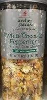 Archer Farms - White Chocolate Peppermint Carmel Corn Clusters lt Carmel Corn Cluster (Popcorn White Chocolate compare prices)