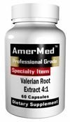 Amermed Valerian Root Extract 4:1, 60 Capsules, 2-PACK