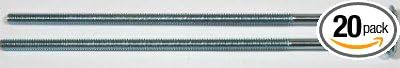 1//2-13 x 18 Carriage Bolts//Partial Thread//Steel//Zinc Carton 20 Pc