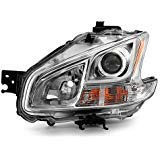 ACANII - For 2009-2014 Nissan Maxima Halogen Model Replacement Headlight Headlamp - Driver Side Only