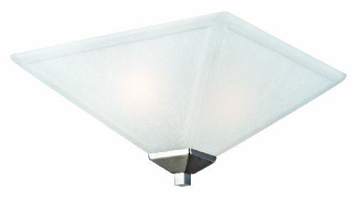 Design House 514794 Torino 2 Light Ceiling Light, Satin Nickel (Light Light Satin Ceiling)