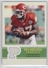Larry Johnson (Football Card) 2009 Upper Deck Philadelphia - Philadelphia Fabrics - [Memorabilia] ()