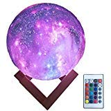 Colorfull star sky ball: This product is injected with PVC and ABS, with high of structural strength. The special craft of surface create uneven surfaces similar to the planet. It's different with the other moon light. The coloured drawing process ma...