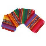 Hand Woven Coasters for Drinks Set of 4- Multicolor- Fun Coasters For Table. Handmade by Guatemalan Artisans. Fair Trade By Cork & Leaf