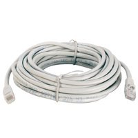 25ft Cat5e Ethernet Network Patch Cable 24AWG Molded Grey 350MHz