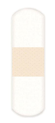Derma Sciences 1490033 Nutramax Clear Strip Patch Adhesive Bandage, 1'' Width, 3'' Length (Pack of 1200)