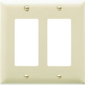 2 gang unbreakable decor unbreakable wall plates 5 pack everything else for Decor ingang