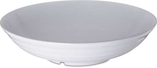 Carlisle-791302-Designer-Displayware-Melamine-Pasta-Bowl-10-lb-Capacity-13-Diameter-x-325-Height-White-Case-of-4