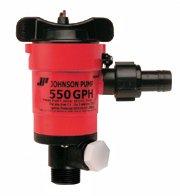 Johnson Pumps 48903 1000 GPH Aerator/Livewell Pump - Pump Gph 500 Aerator