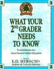 What Your 2nd Grader Needs To Know (Core knowledge)