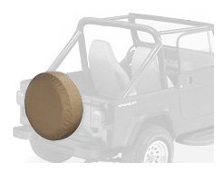 Bestop 61030-04 Tan Large Tire Cover for tires 30\