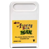 Amazing Box MAX - Machine Embroidery Rewritable Card Blank - SEW - Elna, Kenmore, and New Home