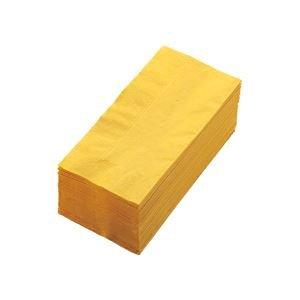 (まとめ) カラーナプキン 2PLY 8つ折 レモン 2PLU-28-L 1パック(50枚) 【×10セット】 ds-1581296 B06XZCF7HC