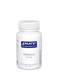 Pure Encapsulations - mélatonine 0,5 mg - 180