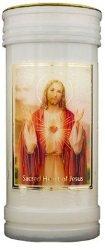 Sacred Heart of Jesus Pillar Candle