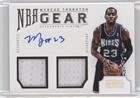 Marcus Thornton #25/49 (Basketball Card) 2012-13 Panini National Treasures - NBA Gear Combos - Autograph [Autographed] #11 -