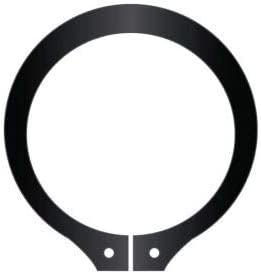 Standard Duty SH-156 Stamped 1-9//16 External Snap Ring Pkg of 100 Spring Steel USA