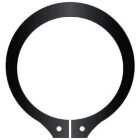 USA Standard Duty 2-3//8 External Snap Ring Stamped SH-237 Pkg of 40 Spring Steel