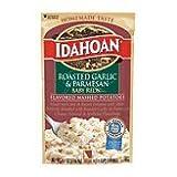 Idahoan Mashed Potatoes Baby Reds Roasted Garlic & Parmesan 4.1 oz (Pack of 12)