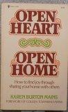 Open Heart-Open Home, Karen B. Mains, 0891911111