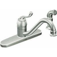 Moen CA87520SRS Muirfield, Kitchen Faucet, Single Handle by Moen Inc/Faucets ()