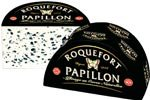 Papillon Roquefort Black Label A.O.C Blue Cheese (1 Pound Piece)