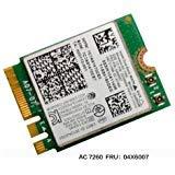Intel Dual Band Wireless-AC 7260 7260 WiFi + Bluetooth 4.0 Combo card For Lenovo N20 Chr omebook, FRU 04X6007 20200552 T440 T440S T440P X230S X240 X240S L440 W540 WLAN