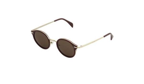 7ddba8d14c00 Amazon.com  Celine 41082S 2JLA6 Red Gold 41082S Round Sunglasses Lens  Category 3 Size 46m  Clothing