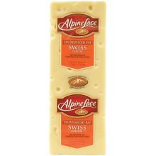 Land O Lakes Alpine Lace Swiss Cheese Loaf, 7 Pound - 2 per case.