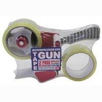 Heavy Duty Tape Gun with 2 Free Rolls of Tape(50 yards each)