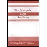 img - for The Principal's Legal Handbook by Mark Gooden, Julie Mead, Patrick Pauken, & Suzanne Eckes Editors Kenneth Lane (2008-08-02) book / textbook / text book