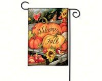 Magnet Works MAIL31224 Welcome Fall Garden Flag