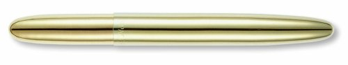 Fisher Space Pen, Bullet Space Pen, Gold Titanium Nitride (Titanium Nitride Bullet Pen)