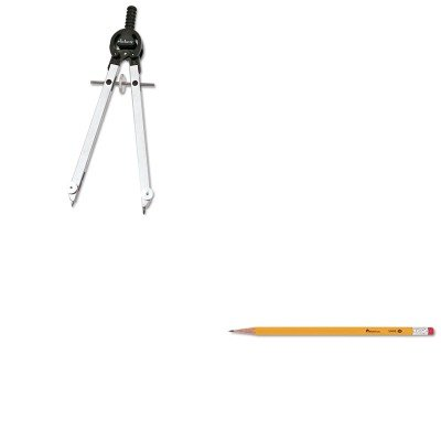KITCHA401NUNV55400 - Value Kit - Chartpak Masterbow Compass (CHA401N) and Universal Economy Woodcase Pencil (UNV55400)