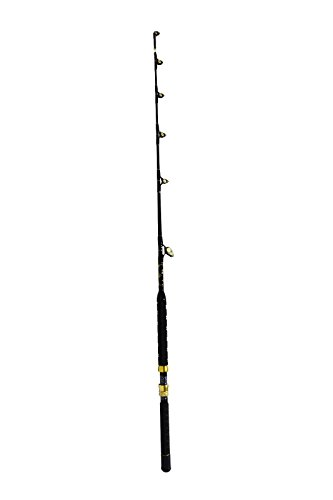 d Custom Blue Marlin Tournament Edition Wind on Leader Guides 30 to 50 Pound Class Pole Trolling (Marlin Tuna Rod)