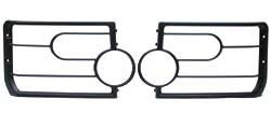 Set of 2 Front Lamp Guards Polymer