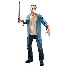 Jason Costume For Men (Rubie's Costume Co. Men's Friday the 13th: Jason Costume, As Shown, X-Large)