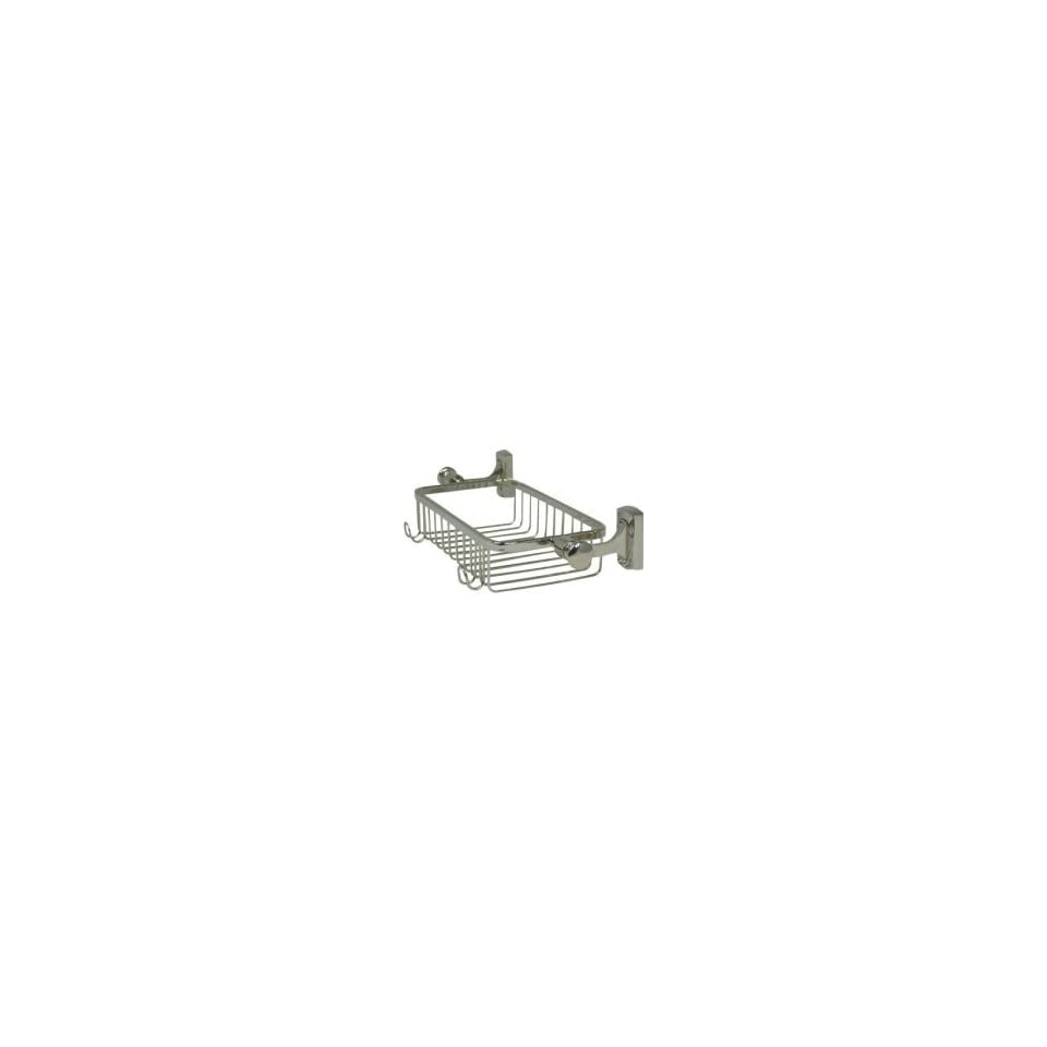 Innova Jameson Wall Mount Stainless Steel Shower Basket in Polished