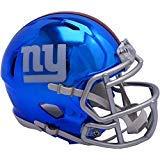 Sports Memorabilia Riddell New York Giants Chrome Alternate Speed Mini Football Helmet - NFL Mini Helmets]()