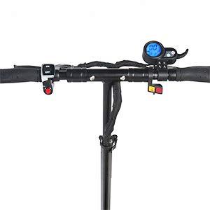 GUNAI Scooter électrique 3200W 60V24Ah à Double Entraînement Pliable avec Batterie au Lithium Vitesse Maximale de 70 km/h Scooter 11 Pouces avec Siège Adapté aux Amateurs de Tout-Terrain (Noir)
