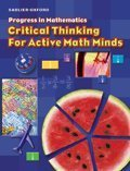 Critical Thinking for Active Math Minds: Student Workbook - Grade 5