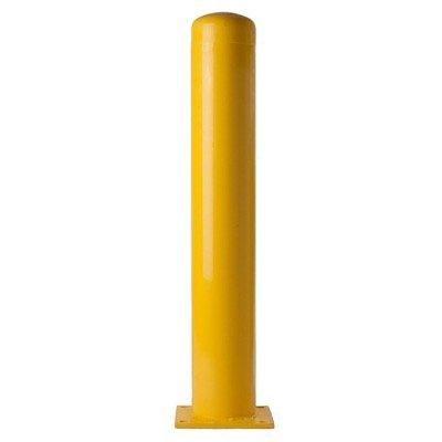 36''H x 8''W Steel Bolt Down Bollard