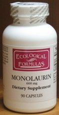 Ecological Formulas/Cardiovascular Res. – Monolaurin 600mg – 90 Capsules, Health Care Stuffs